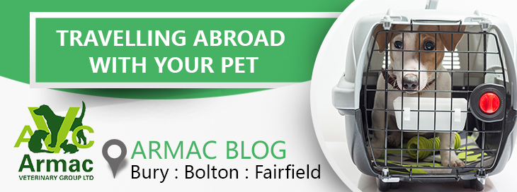 travelling abroad with your pet
