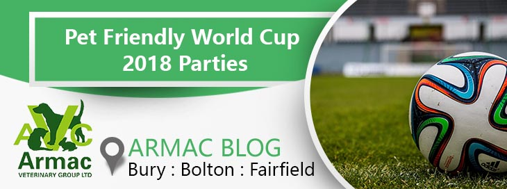 Pet Friendly World Cup 2018 Parties